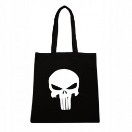 PUNISHER LOGO CZARNE TORBA