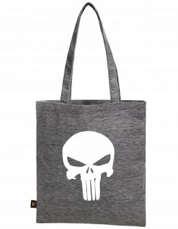 PUNISHER LOGO SZARA TORBA SUPER JAKOŚĆ